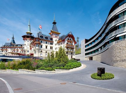 The Dolder Grand Spa: The Dolder Grand, Zurich, Suisse