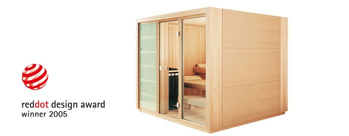 reddot award au German Design Award - Sauna PROTEO